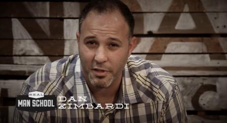 Man School Invitation from Dan Zimbardi