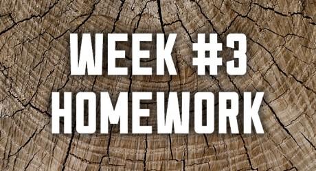 Week #3: TRUTH Homework