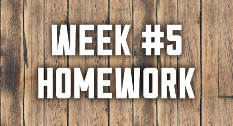 Week #5: Band of Brotherhood Homework