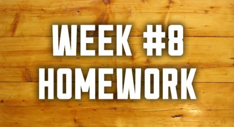 Week #8: Leading with Authority Homework